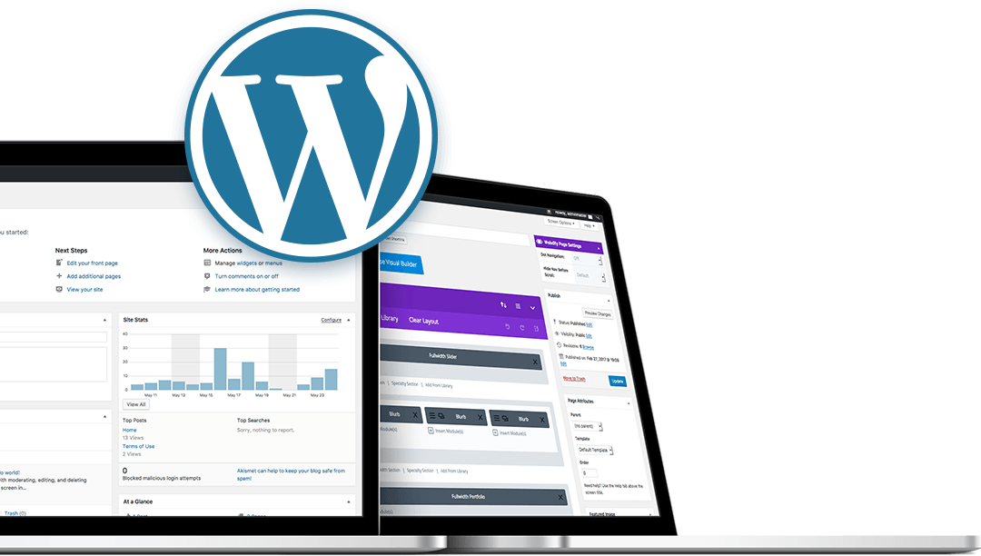 webdify built on wordpress